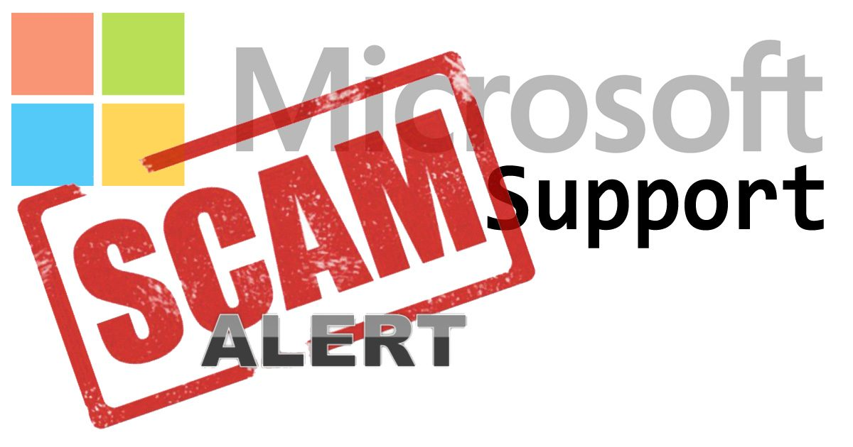 Microsoft Support SCAM: Catching out people in Lismore